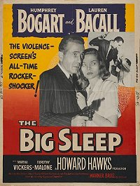 Big Sleep 30x40 1954 reissue