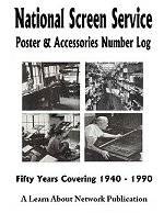 National Screen Service Poster & Assessories Number Log
