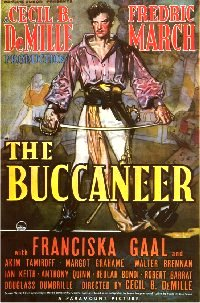 Buccaneer 1938 US one sheet