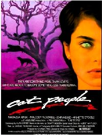 Cat People 1982 US one sheet