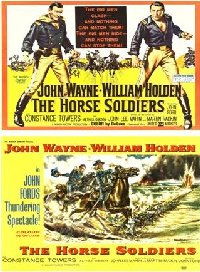 Horse Soldiers 1959 US Lobby Cards