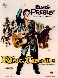 King Creole 1958 Spanish one sheet