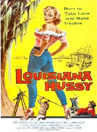 Louisiana Hussy 1959 US one sheet