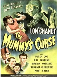 Mummy's Curse 1944 US one sheet
