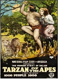 Tarzan of the Apes 1918 US one sheet