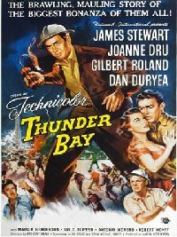 Thunder Bay 1953 US one sheet
