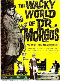 Wacky World of Dr. Morgus 1962 US one sheet