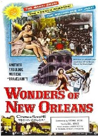 US Wonders of New Orleans 1957 US one sheet