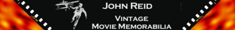 John Reid Vintage Movie Memorabilia