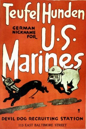 Learn About Military Posters World War 1 Marine